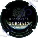 GERMAIN n°33b vert foncé et métal