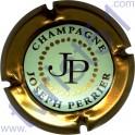 PERRIER Joseph n°78 vert pâle contour or