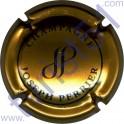 PERRIER Joseph n°88a or-bronze et noir