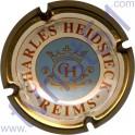 CHARLES HEIDSIECK n°61c crème rosé centre gris bleu