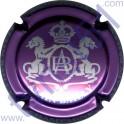 BAILLY Alain : violet-métallisé et argent