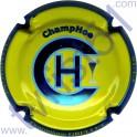 GRELLET Dominique n°28a jaune contour bleu