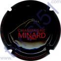 MINARD & FILLES : noir et rouge et or