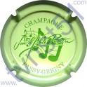 PELLETIER Jean-Michel n°15 vert pâle et vert