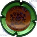 GUEUSQUIN N. n°04 orange contour vert métallisé