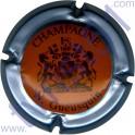 GUEUSQUIN N. n°06 orange contour gris-bleu métal