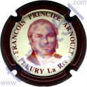 ARNOULT François Principe n°02 contour bordeaux fond crème