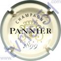 PANNIER n°45 fond crème pâle