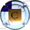 COESSENS n°03 blanc or mat et violet