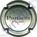 PONSON Pascal n°02 argent et noir