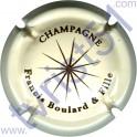 BOULARD & Fille Francis : crème et marron