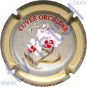 FRANCOIS-DELAGE n°41 Orchidée fond gris