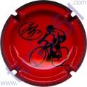 PELLETIER Jean-Michel : vélo rouge et noir