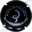 BILLECART-SALMON : noir et argent petit cercle