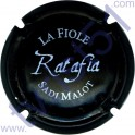 MALOT Sadi n°52b Ratafia noir mat et blanc