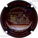 MOUZON J.C. n°05 bordeaux et or