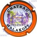 MALAKOFF n°09 orange jéroboam