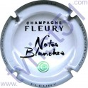 FLEURY n°25c Notes Blanches