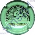 JOREZ-LEJEUNE n°25 vert pâle et noir