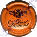 DUMONT Daniel : orange et noir