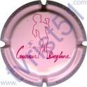COUVREUR-DEGLAIRE n°01 rose pâle et rouge