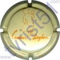 COUVREUR-DEGLAIRE n°01e crème et orange