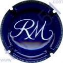 MANCEAUX Roger n°14h bleu foncé et blanc