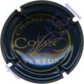 COLIN n°09 bleu métallisé et or