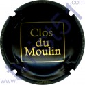 CATTIER : Clos du Moulin noir mat et or