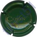 COLIN n°11 vert foncé et or