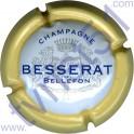 BESSERAT DE BELLEFON : contour jaune 32mm barres vides