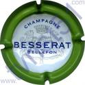 BESSERAT DE BELLEFON : contour vert 32mm barres vides