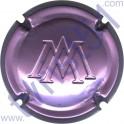 MARGAINE A. n°24c estampée violet métallisé