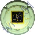 COUVREUR Yves n°14 Jacques Couvreur fond vert pâle