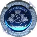 DAVERDON Sébastien n°07d bleu métal et blanc striée