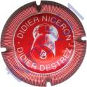 DESTREZ Didier n°18 rouge et blanc