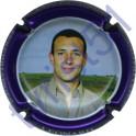 DUVAT Albéric n°30 Léonard contour violet métallisé