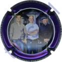 DUVAT Albéric n°38c cuverie contour violet métallisé