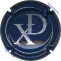 DUVAT Xavier n°01 bleu et argent