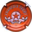 FAGOT François : petites lettres orange