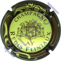 FLINIAUX Régis n°24 vert jaune contour marron