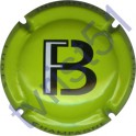 FORGET-BRIMONT n°02 fond vert pomme